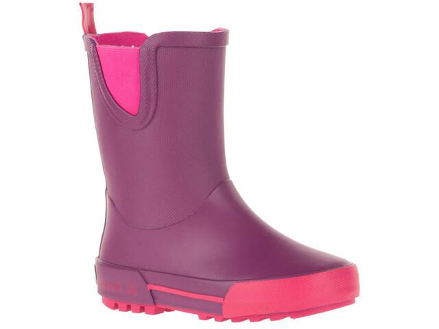 Kamik Rainplay Stivali di gomma Bambini, dark purple/rose